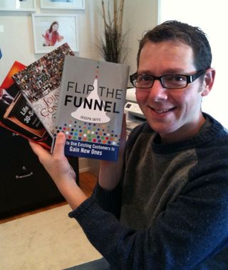 Jaffe with book