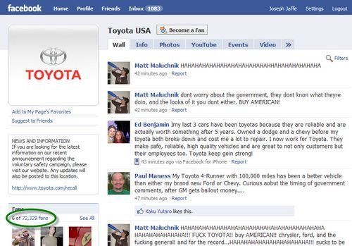Toyotafacebook