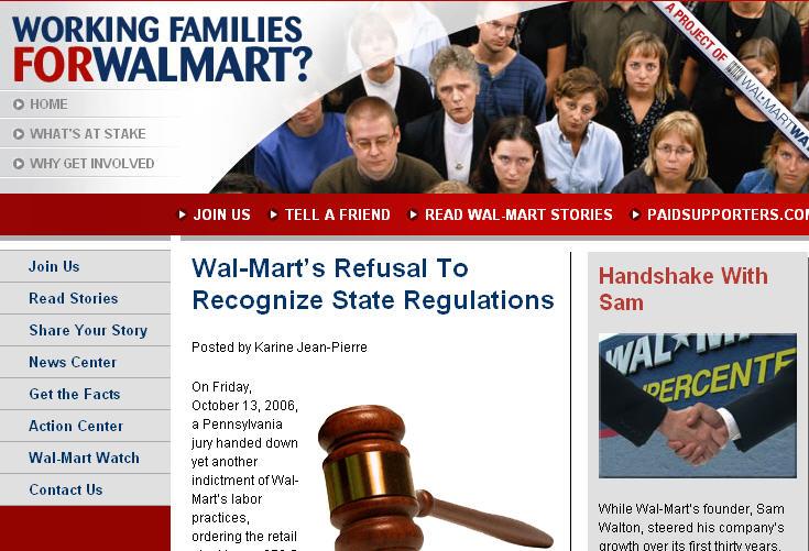 Workingfamiliesforwalmart